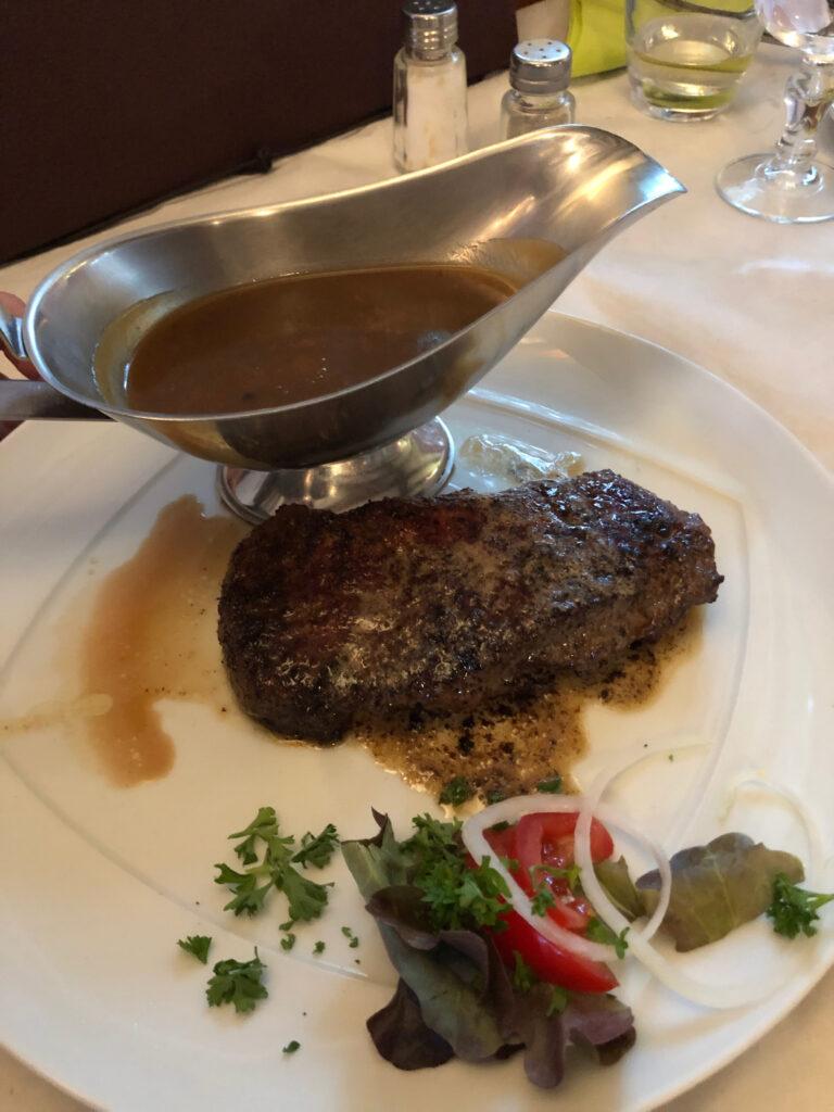 Steak Ecurie du Rhin